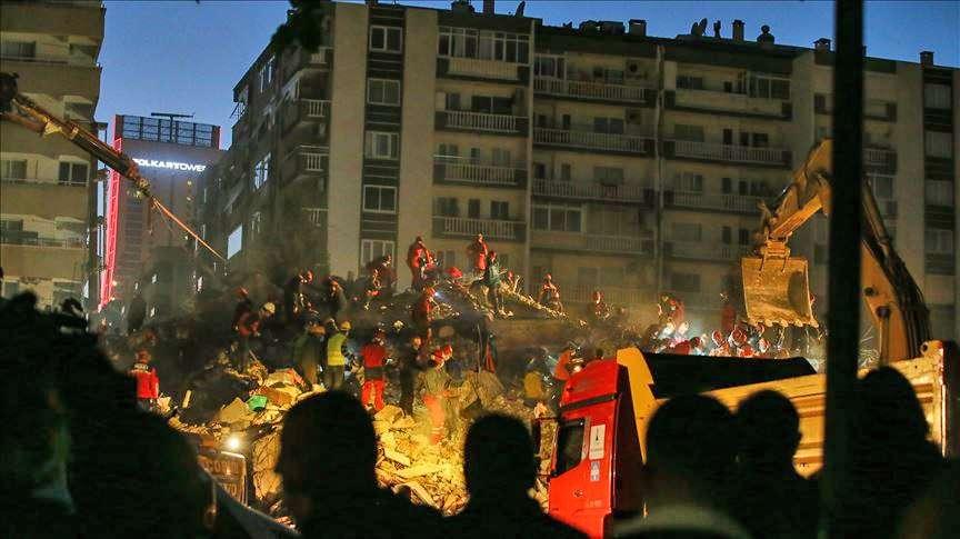 39 νεκροί Τουρκία Σμύρνη σεισμός