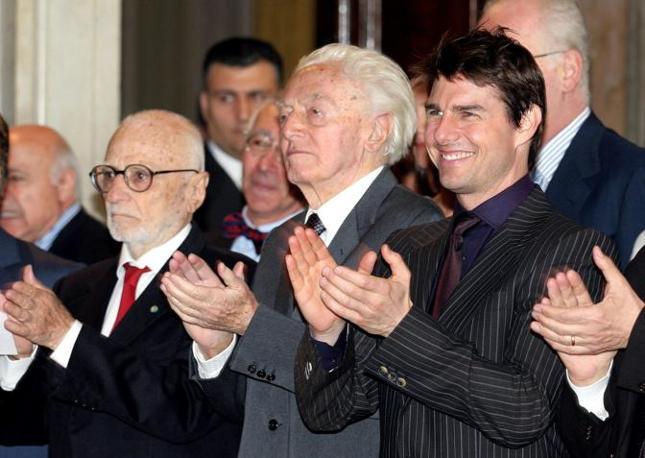 Με τον Tom Cruise & Dino Risi