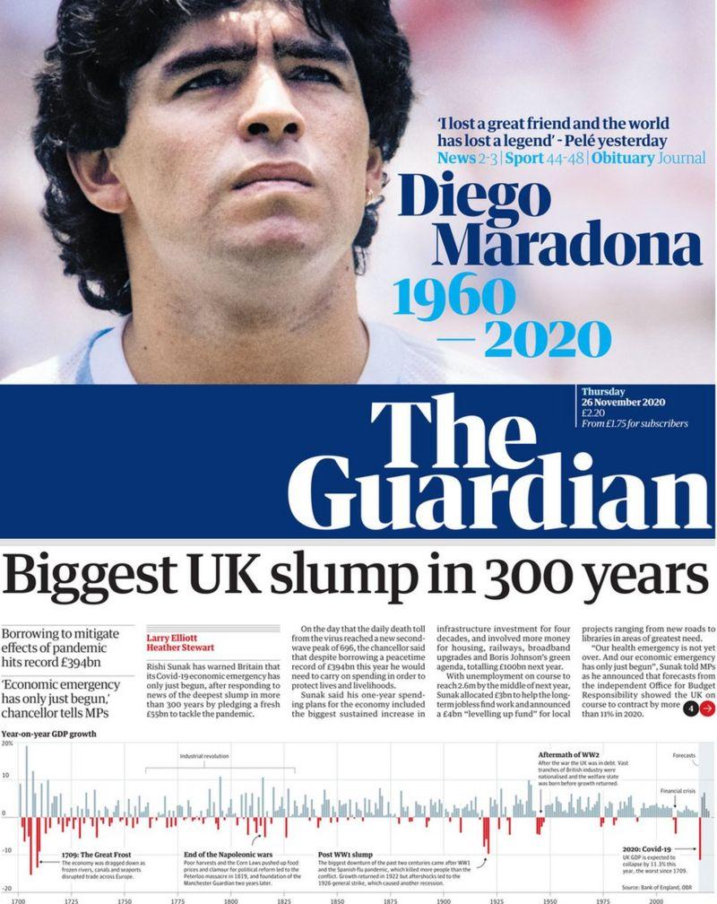 Diego Maradona guardian