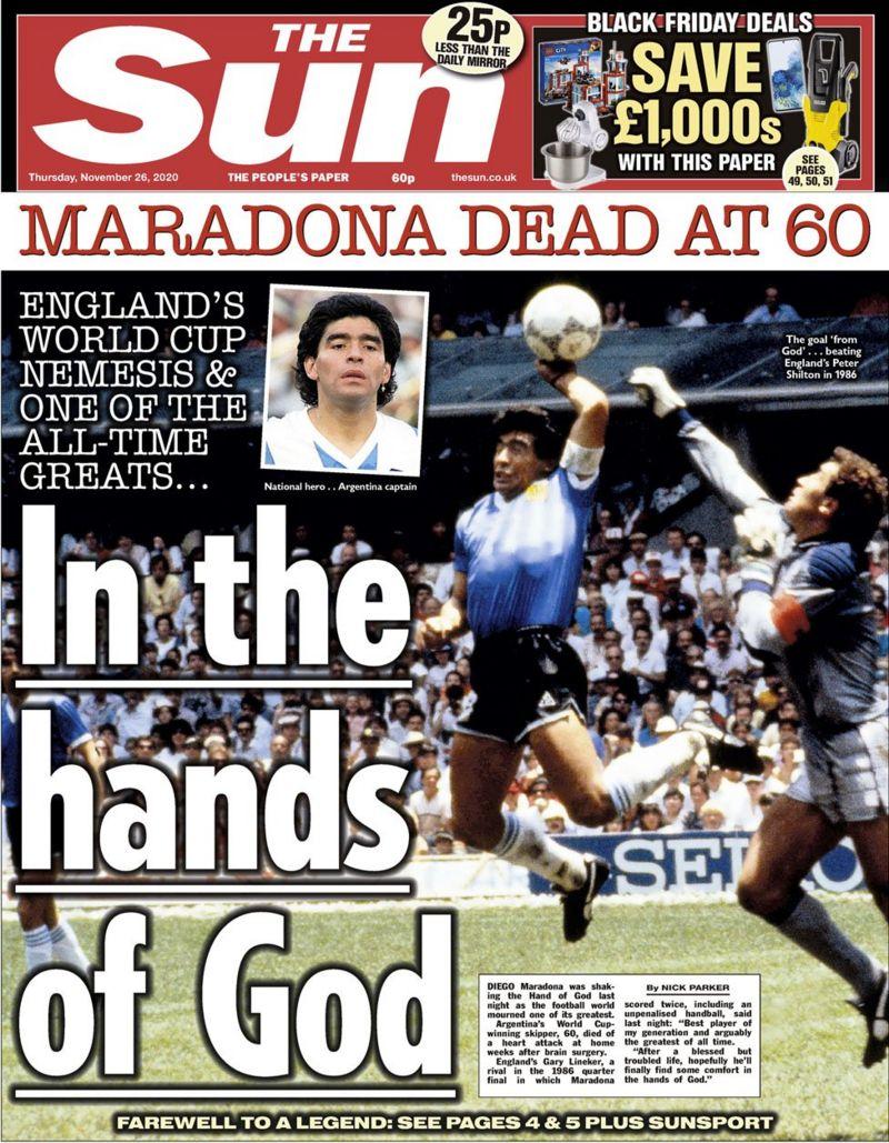Diego Maradona thesun