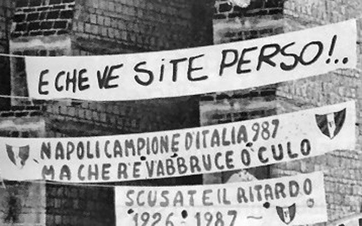 E non chano se só perso napoli scudetto 1987 cimitero