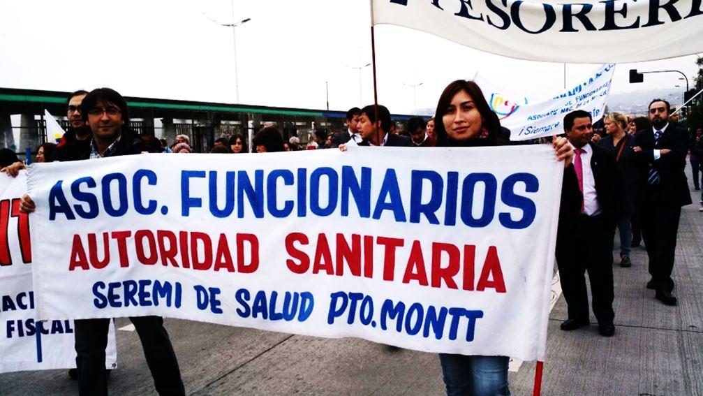 Federación de Asociaciones de Funcionarios de la Salud manifestacion
