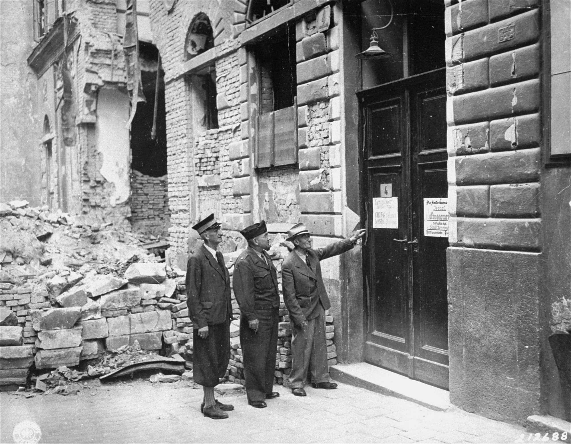Kristallnacht Vienna Συναγωγή Βιέννη