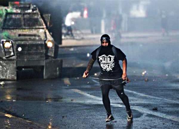 Los chilenos han condenado el uso excesivo de la fuerza por parte de la Policía de Carabineros
