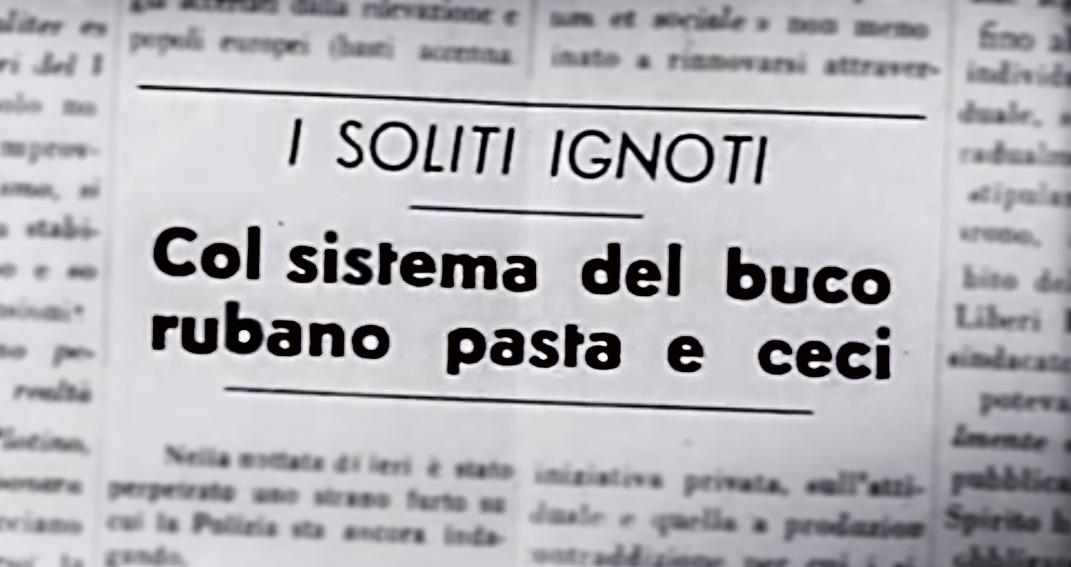 Mario Monicelli I Soliti ignoti e la Pasta e ceci Romana