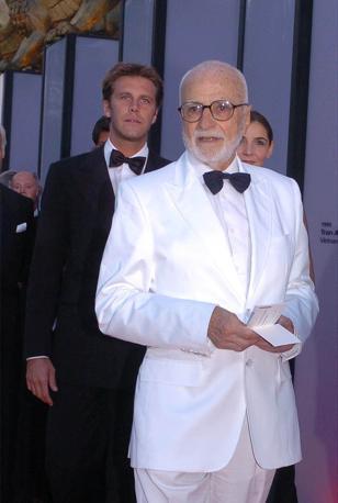 Mario Monicelli Venezia 1/09/2004 61η Mostra Internazionale d'Arte Cinematografica