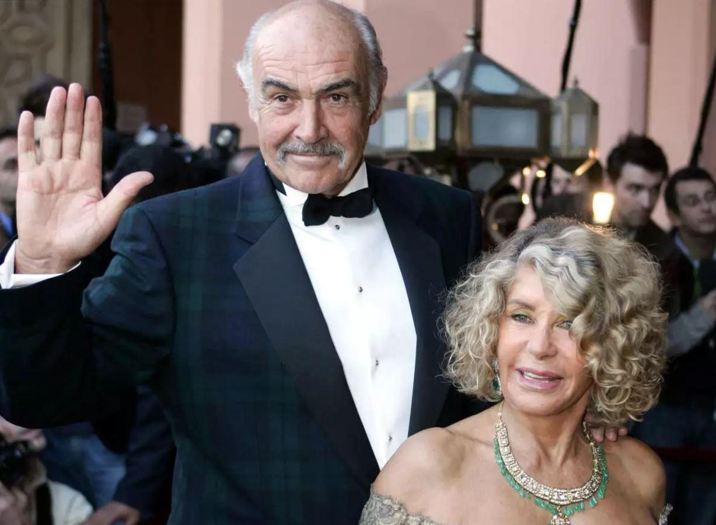 Sean Connery + Micheline Roquebrune