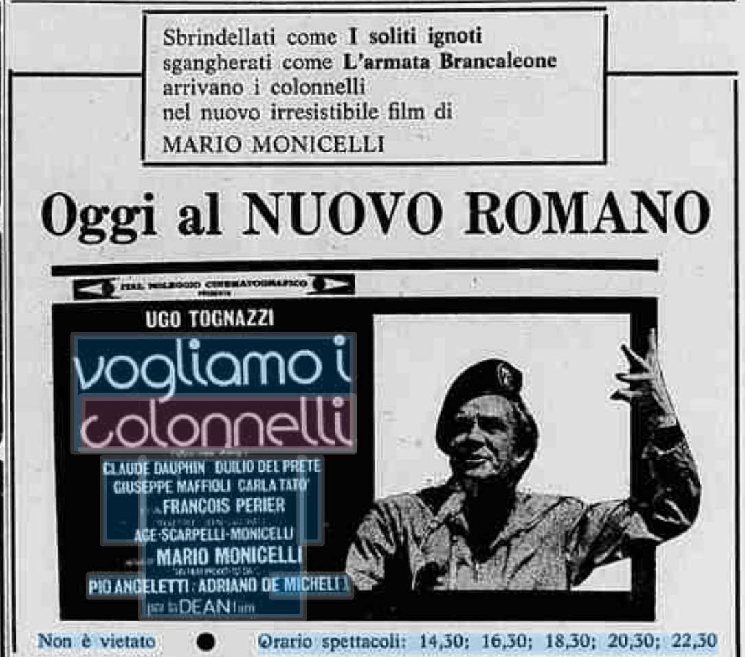 Monicelli Mario Biografie GOLPE BORGHESE