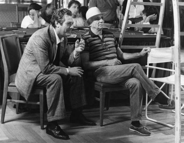 Monicelli + Marcello Mastroianni 1985 film «Le due vite di Mattia Pascal»