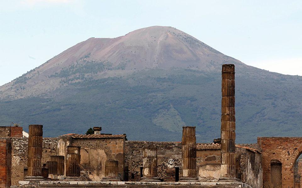 Pompeii vezuvius