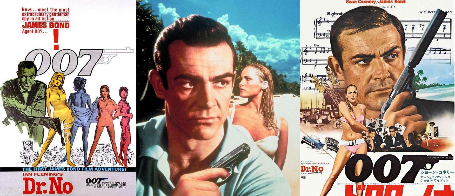 Sean Connery Σον Κόνερι Ursula Andress Ούρσουλα Άντρες 007 Bond Doctor NO
