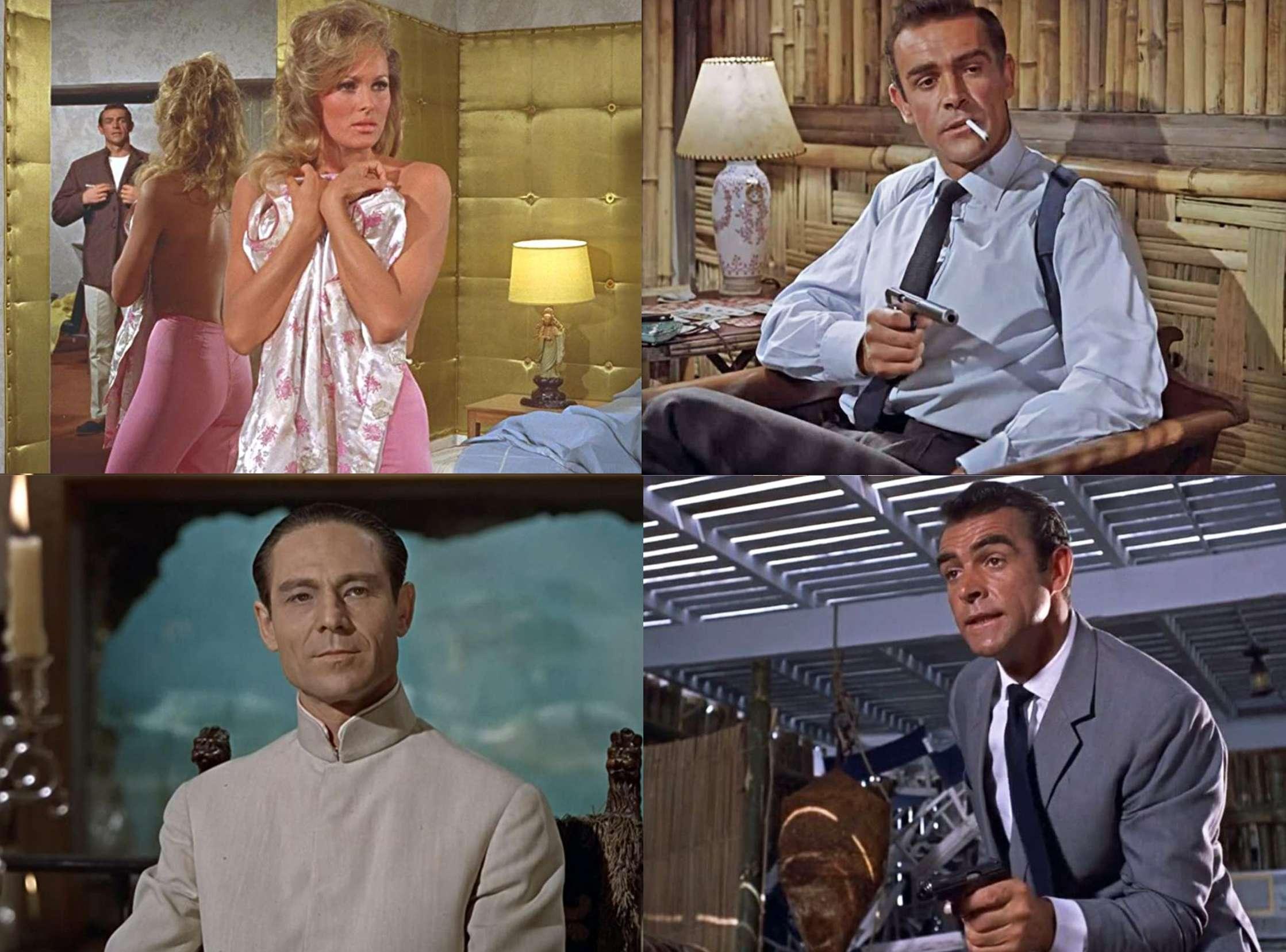 Sean Connery Σον Κόνερι Ursula Andress Ούρσουλα Άντρες 007 J Bond Doctor NO
