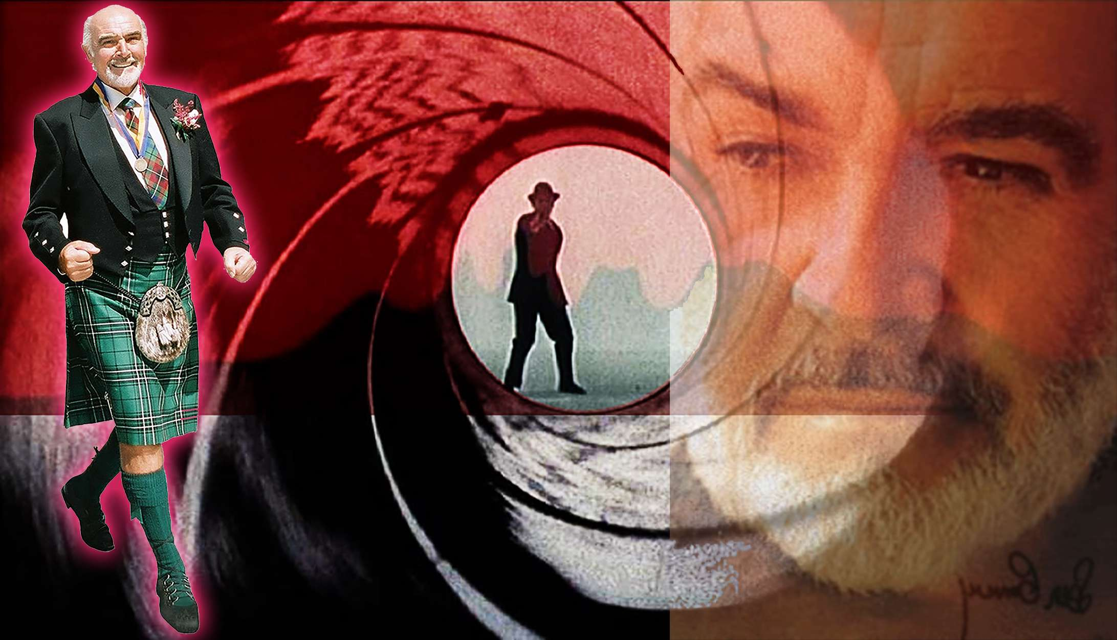 Sean Connery 007 Licence to Kill