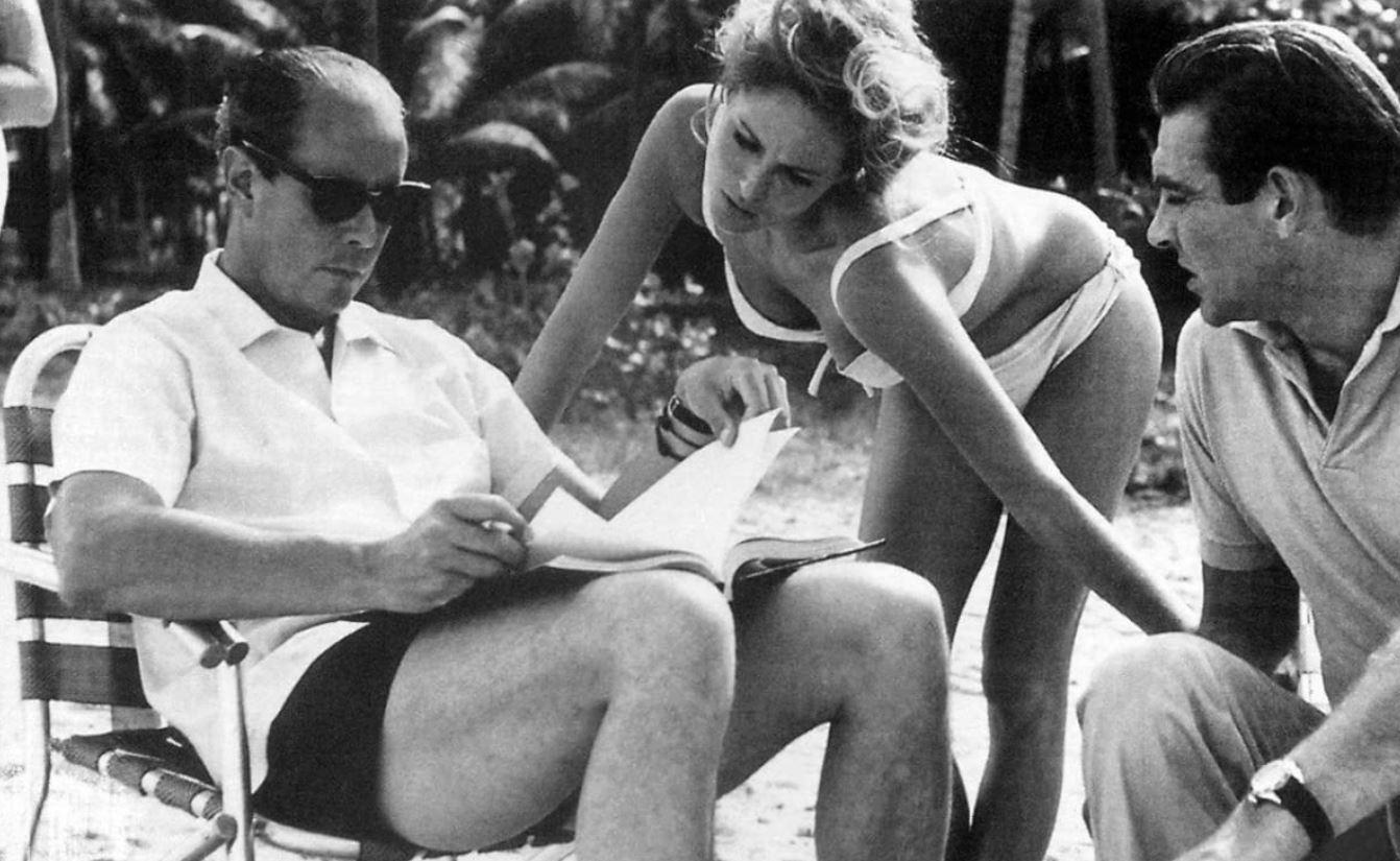 Sean Connery Ursula Andress 007 Doctor NO