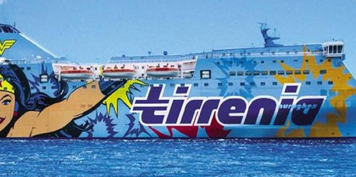 Tirrenia lines