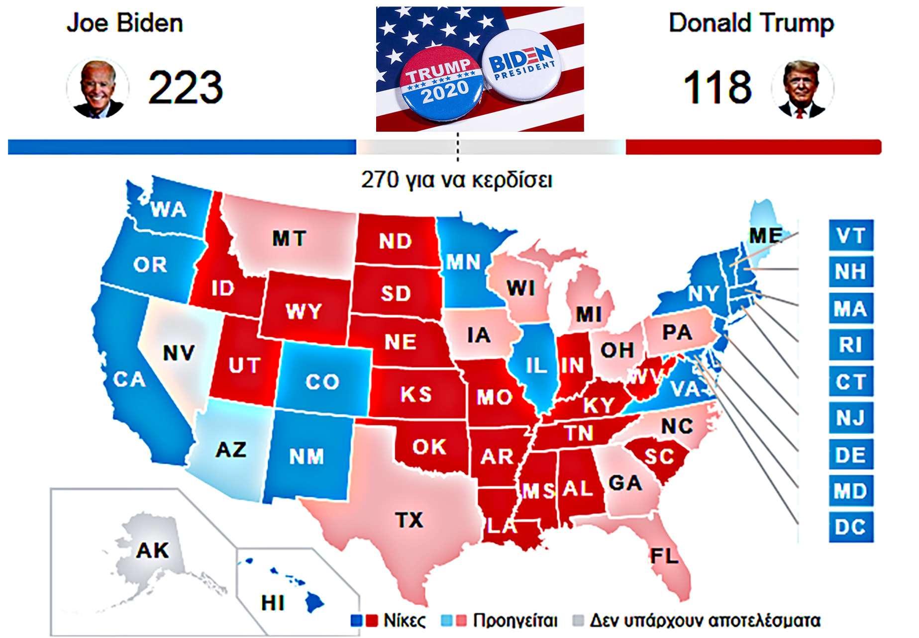 USA Elec 4 Nov 2020