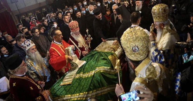 belgrade patriarch irineos