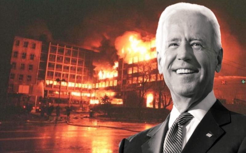 Τζο Μπάιντεν: «Εγώ πίεσα τον Κλίντον να βομβαρδίσει την Σερβία»