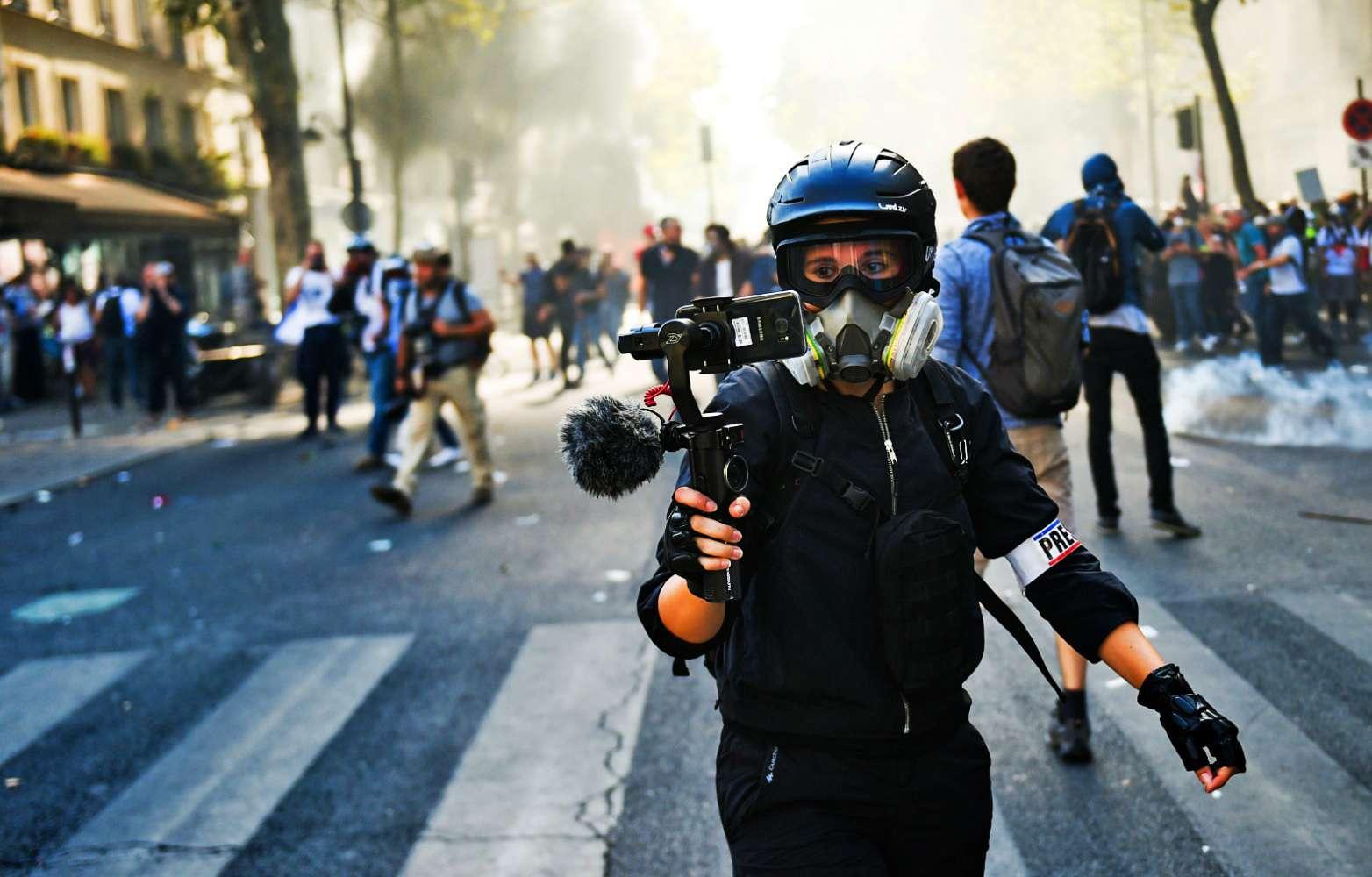 loi securite globale nombreuses manifestations