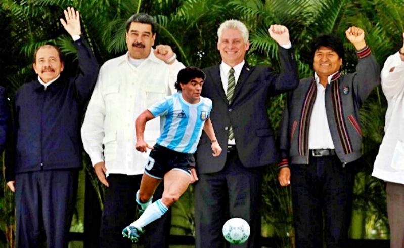 maradona america latina