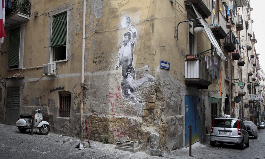 maradona graffitti