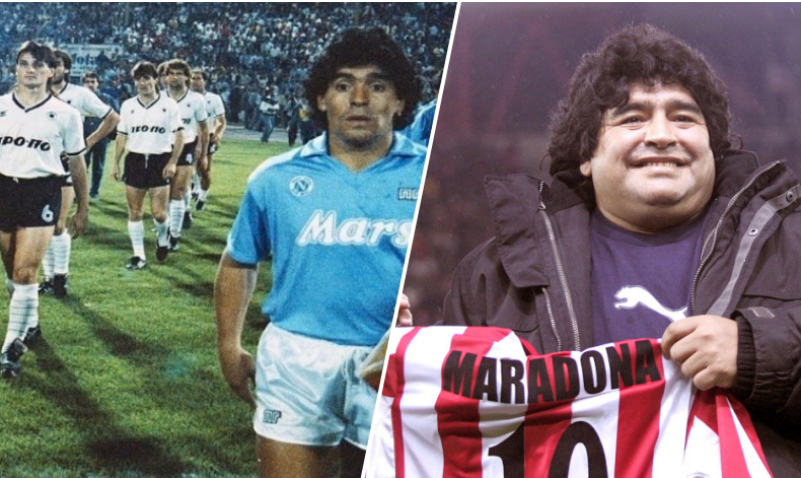 maradona greece