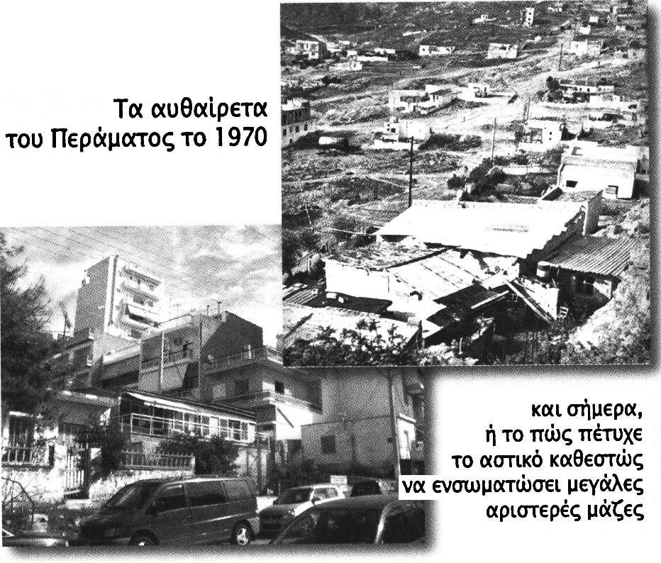 Αθήνα - Πρωτεύουσα ταξική συγκρότηση εμπορευματοποίηση & Λαϊκός Πολιτισμός Πέραμα