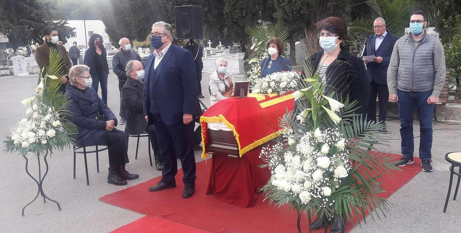 Κηδεία Τρικαλινού Καισαριανή 17-Δεκ