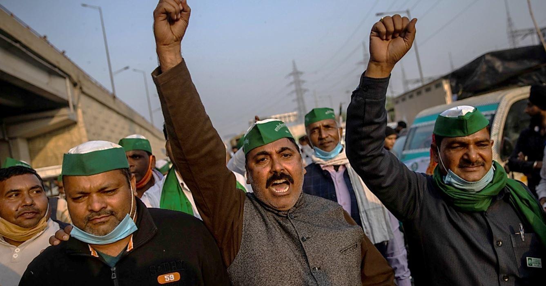India ΚΚ Ινδίας (μαρξιστικό) απεργία Νοε-Δεκ 2020