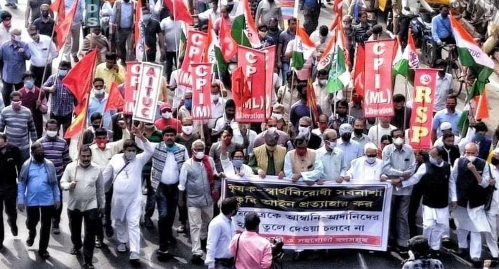 India απεργία Νοε-Δεκ 2020