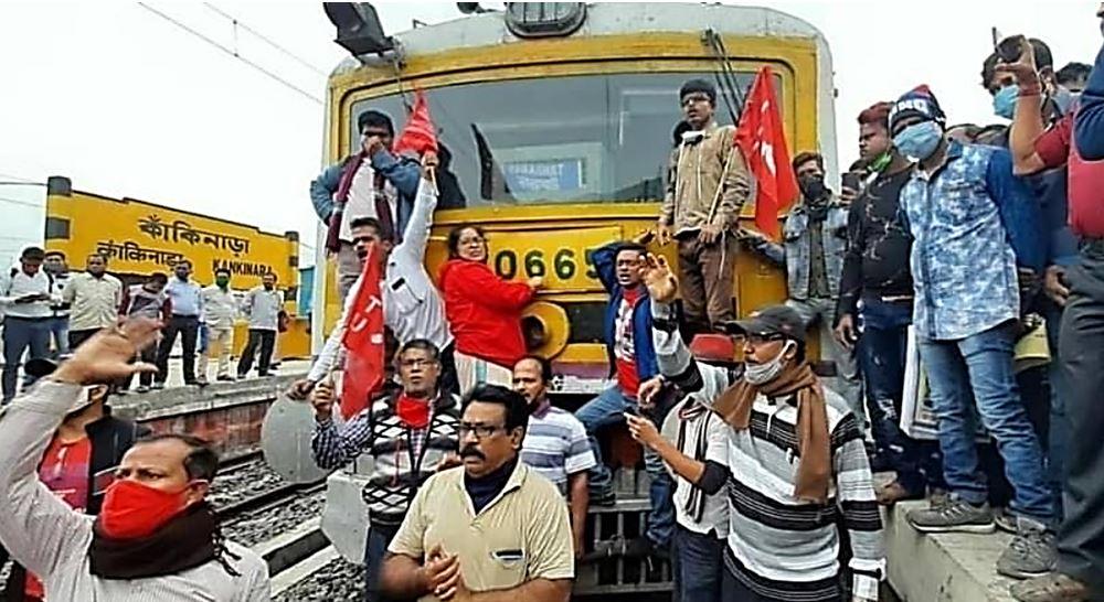 Apergia India απεργία Νοε-Δεκ 2020