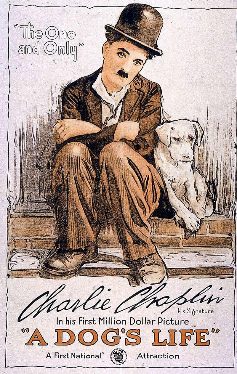 Chaplin A Dogs Life 1918