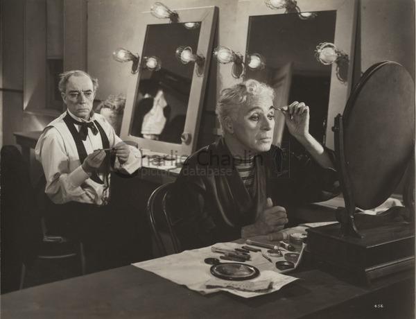 Chaplin Buster Keaton Limelight 1952