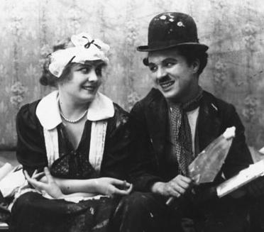 Chaplin Edna Purviance 1915