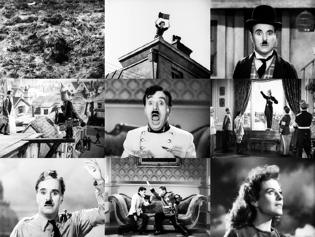 Chaplin Le Dictateur