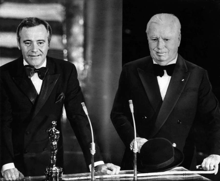 Chaplin oscar Honorary Academy Award Jack Lemmon