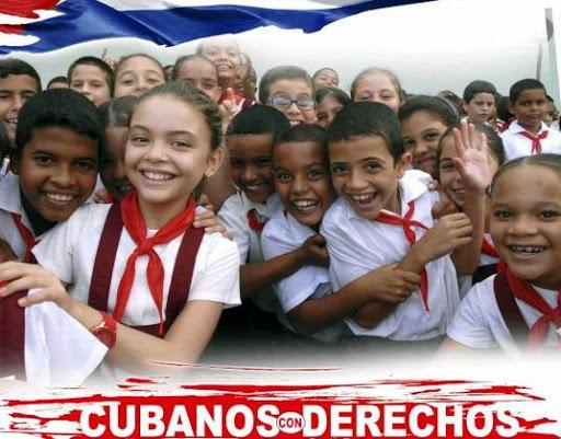 Derechos humanos Cuba ninos