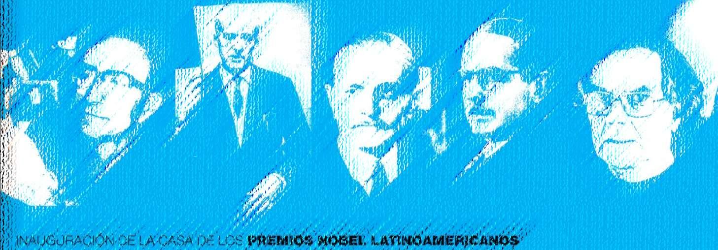 Inauguran en Argentina Casa de los Premios Nobel Latinoamericanos