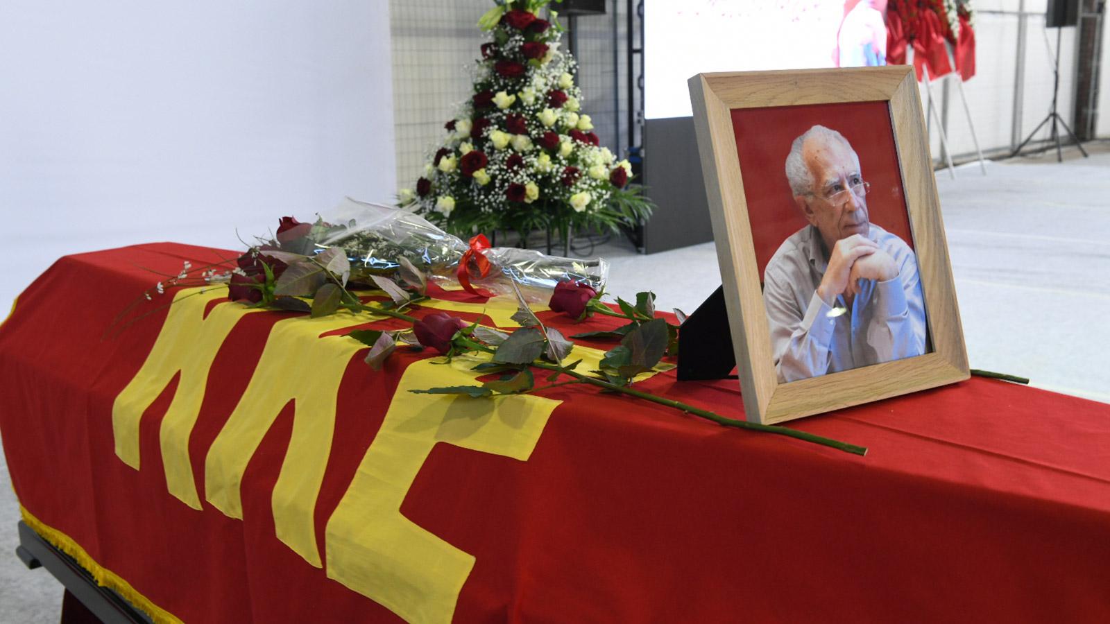 Κηδεία Μάκη Μαΐλη