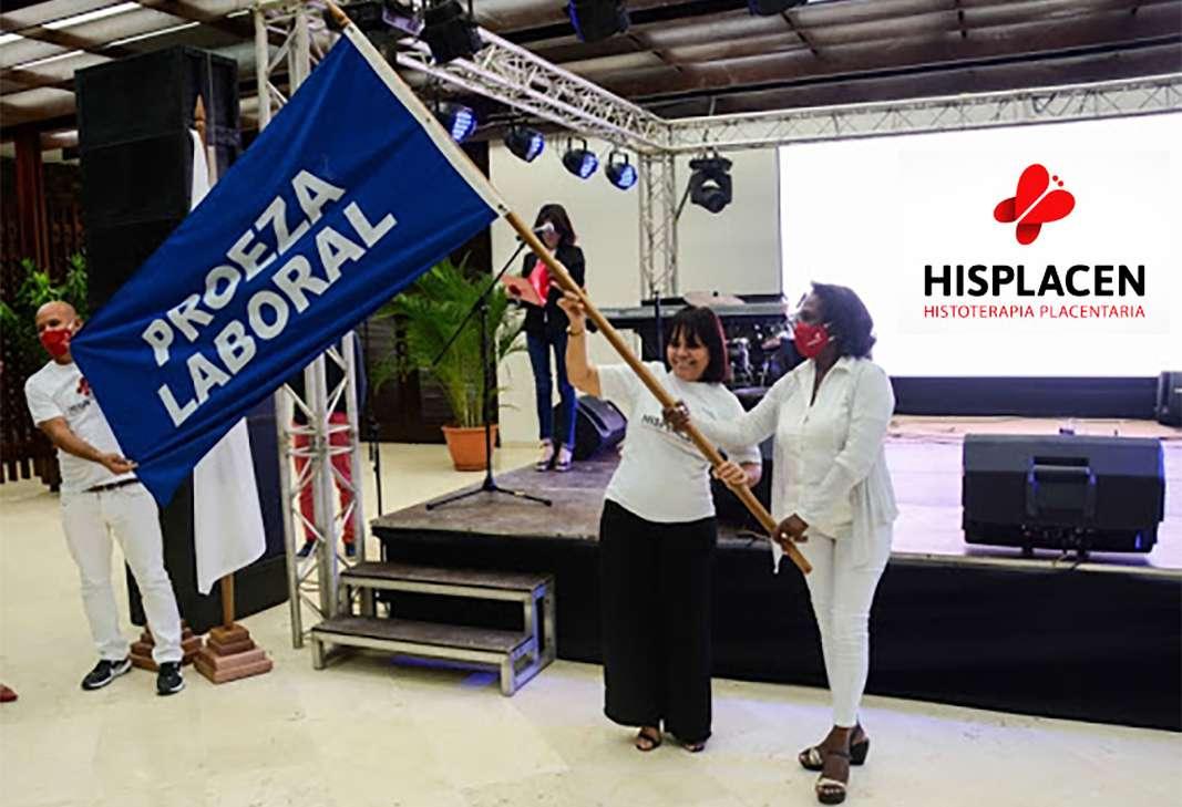 HISPLACEN Centro de Histoterapia Placentaria bandera Proeza Laboral