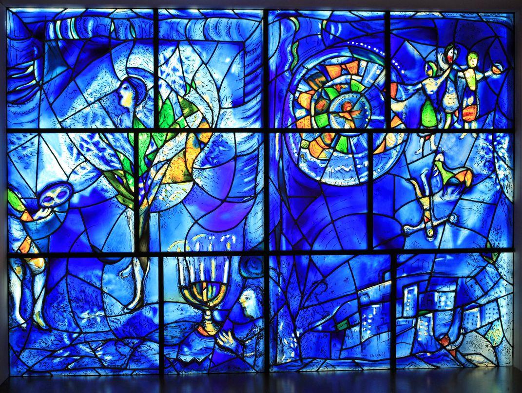 Marc Chagall Παράθυρα της Αμερικής