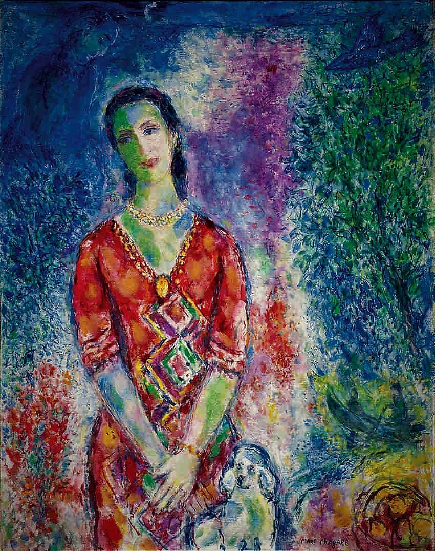 Marc Chagall Πορτραίτο της Ε.Β.Γ. - 1969