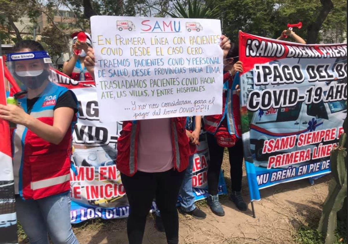 Perú Médicos continúan en huelga indefinida 20 1 2021 4