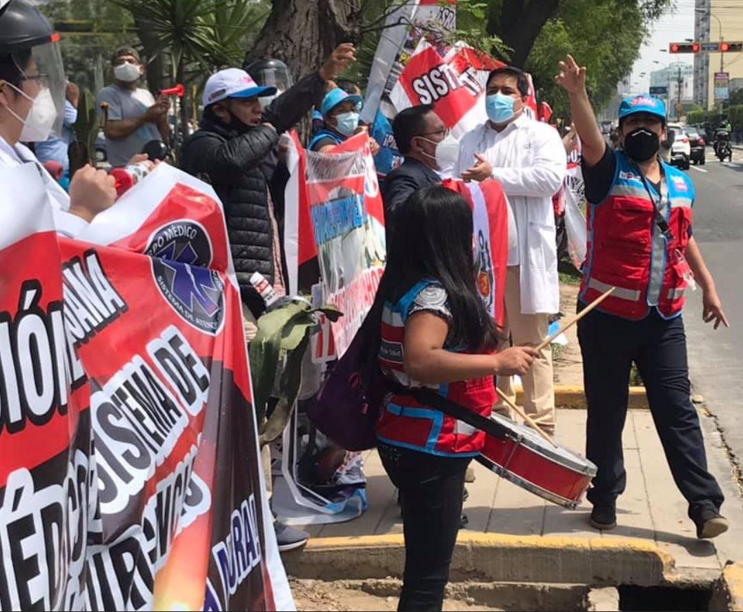 Perú Médicos continúan en huelga indefinida 20 1 2021 6 1