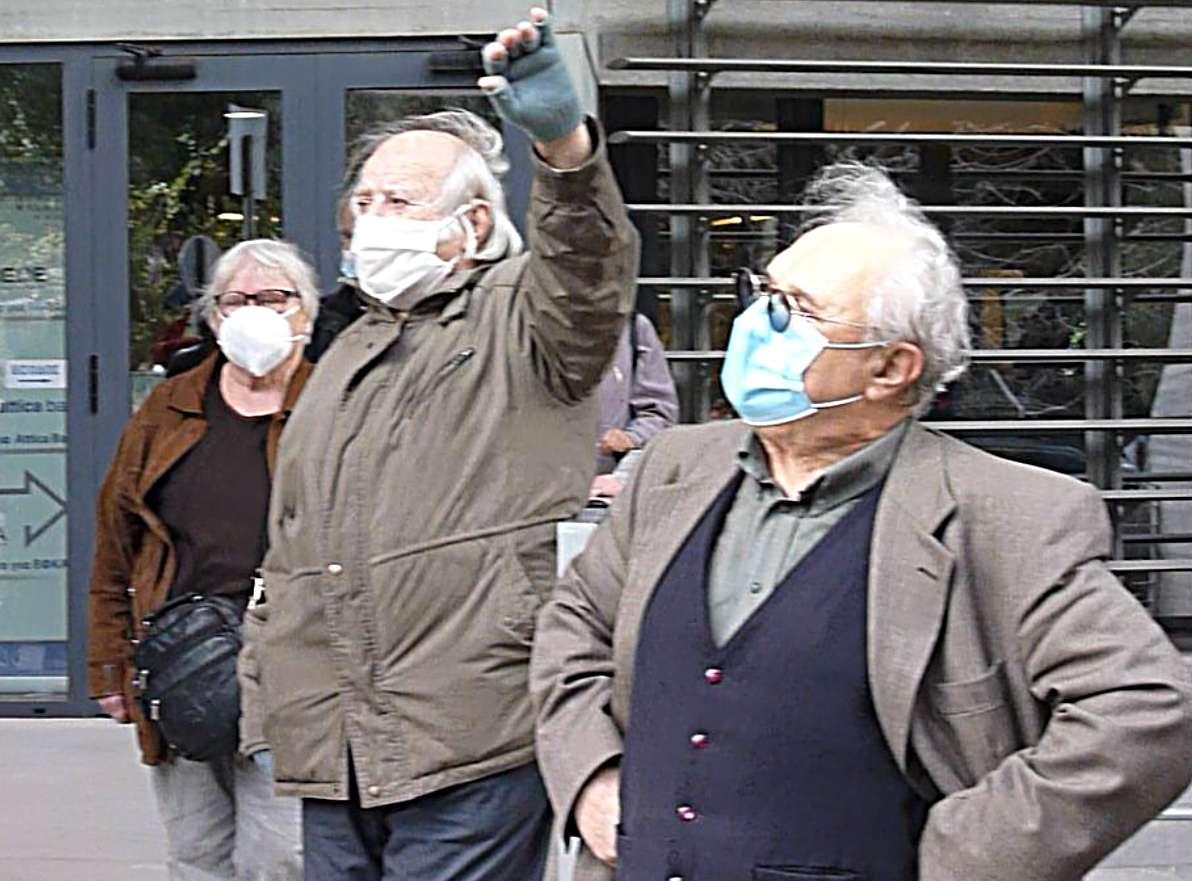 «Καταδρομική»διαμαρτυρία μαχόμενων συνταξιούχων