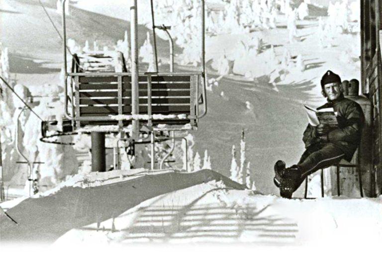 Snow Χιόνια lift-book
