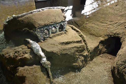 4τροχο άρμα Civita Giuliana carro cerimoniale romano