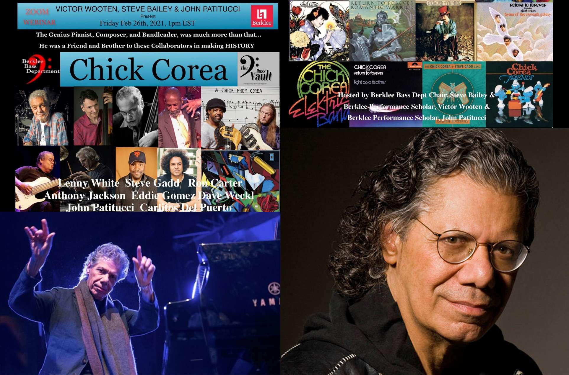 Armando Anthony Chick Corea