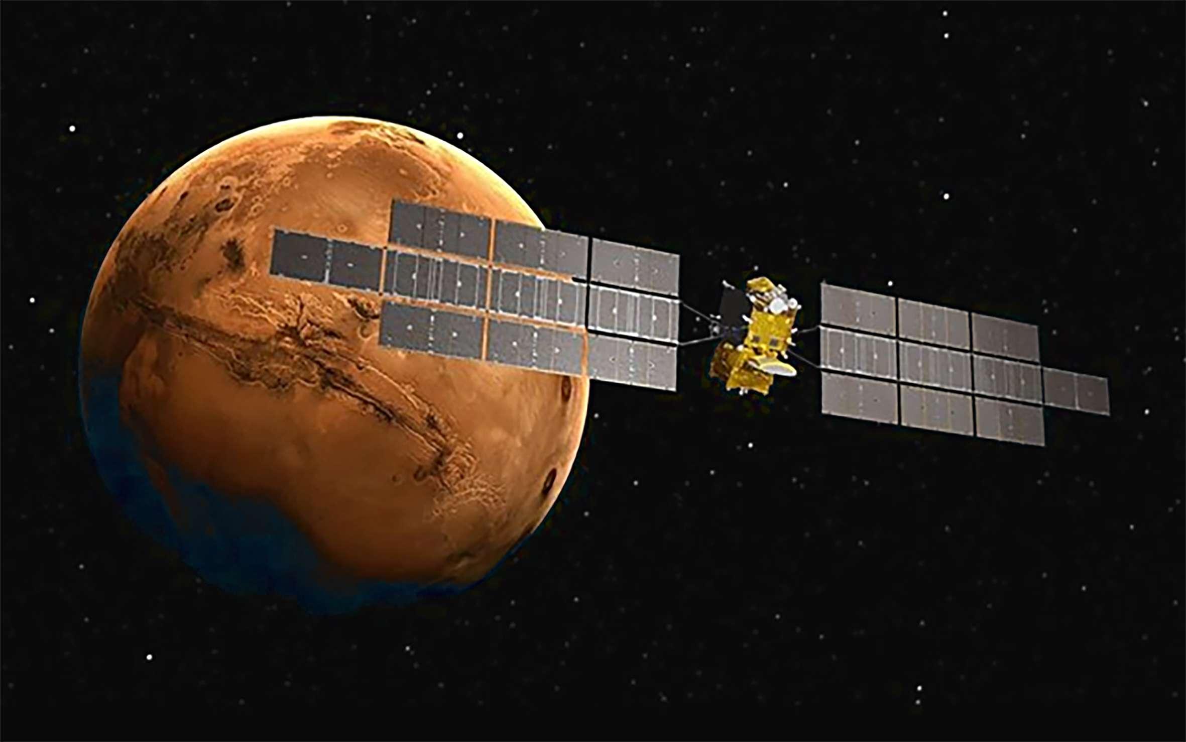 Earth Return Orbiter Mars Sample Return