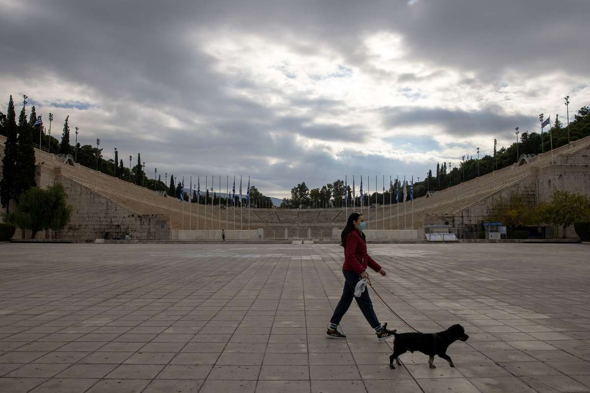 GREECE LOCKDOWN